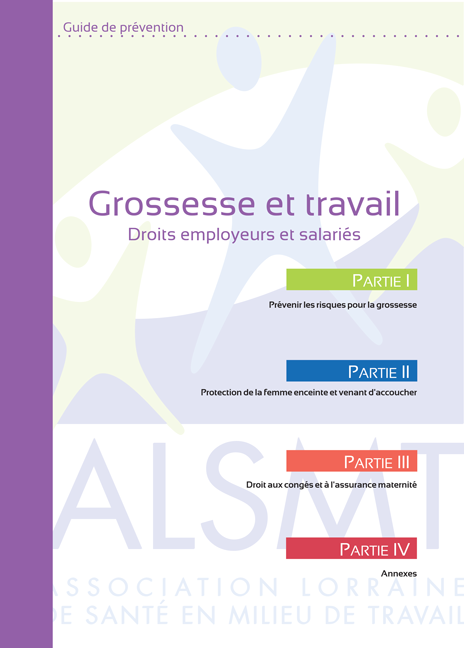 Guide Grossesse et travail